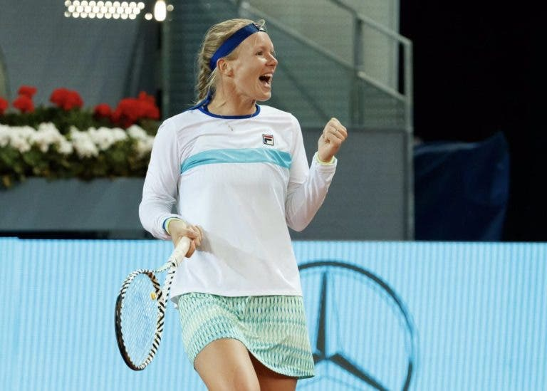 Kiki Bertens supera Stephens e repete final em Madrid