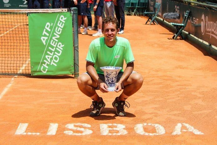 Carballes Baena faz recuperação incrível e conquista o Lisboa Belém Open