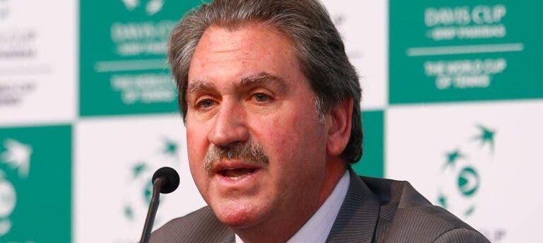 """ITF admite que paragem teve um """"impacto tremendo no mundo do ténis"""""""