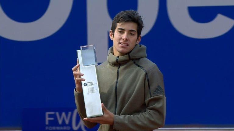 Cristian Garin conquista segundo título ATP do ano em Munique