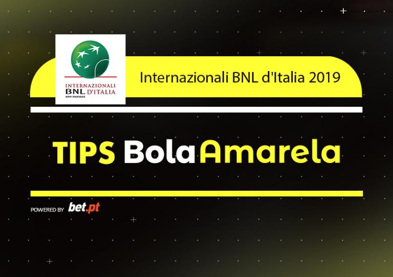 Apostas: Tips Internazionali BNL d'Italia | 18/05/2019