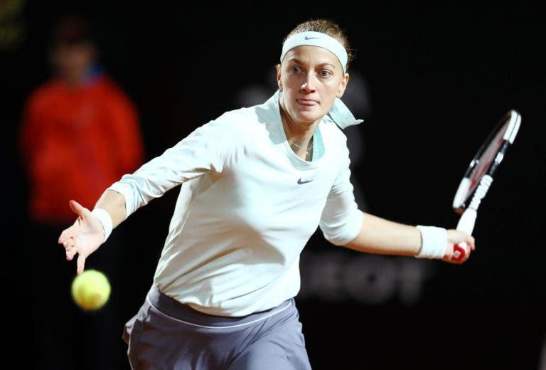 Confirmam-se os piores receios: Kvitova desiste de Roland Garros