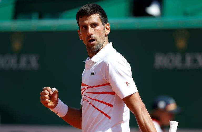 """Djokovic: """"Ele não se mexeu tão bem hoje como ontem à noite"""""""