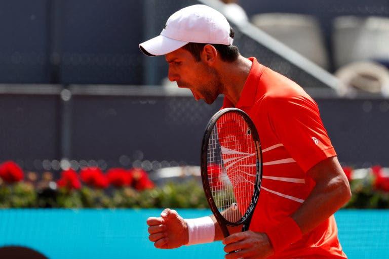 Djokovic supera Tsitsipas e conquista Madrid pela terceira vez