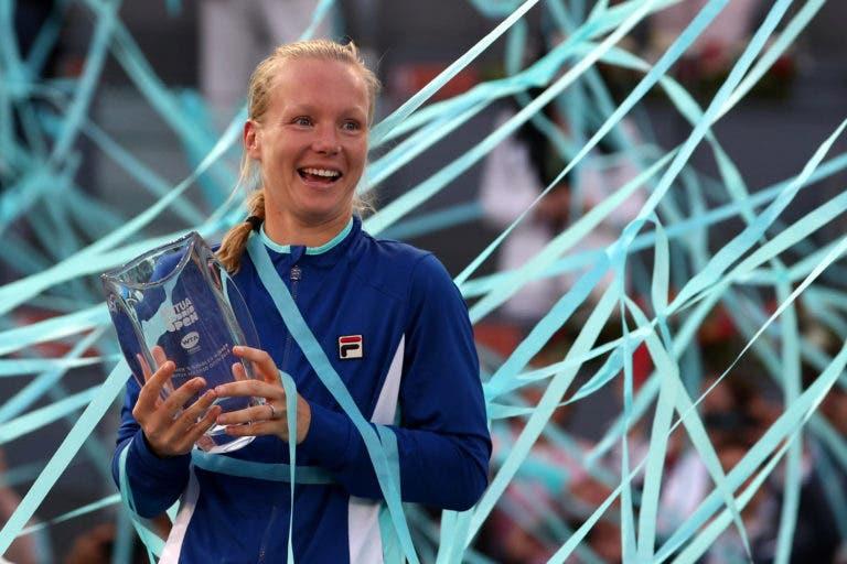 O novo top 10 do ranking WTA com várias alterações nos primeiros lugares