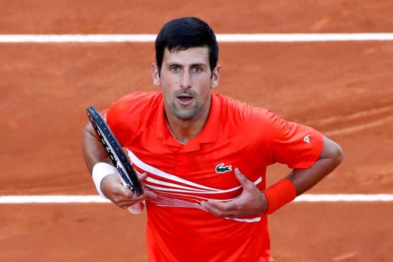 Djokovic resiste a Schwartzman e marca final de luxo com Nadal em Roma