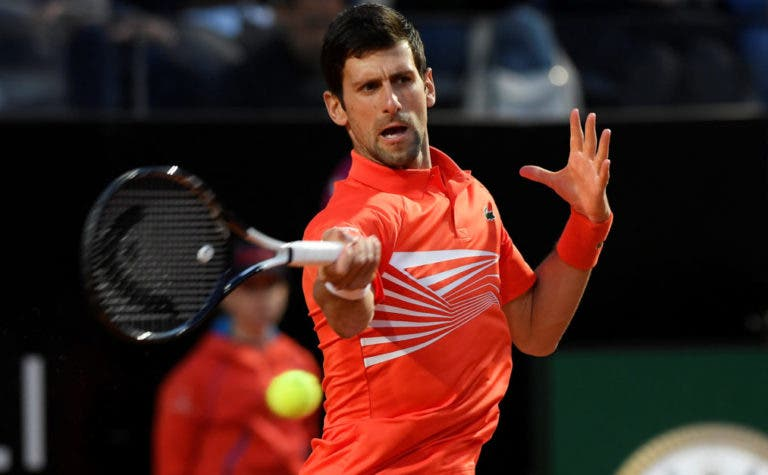 Djokovic e a possibilidade de Madrid e Roma terem mais dias de prova: «Ainda não se decidiu nada»