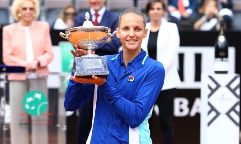 O novo top 10 feminino com Pliskova em destaque e… Serena de regresso