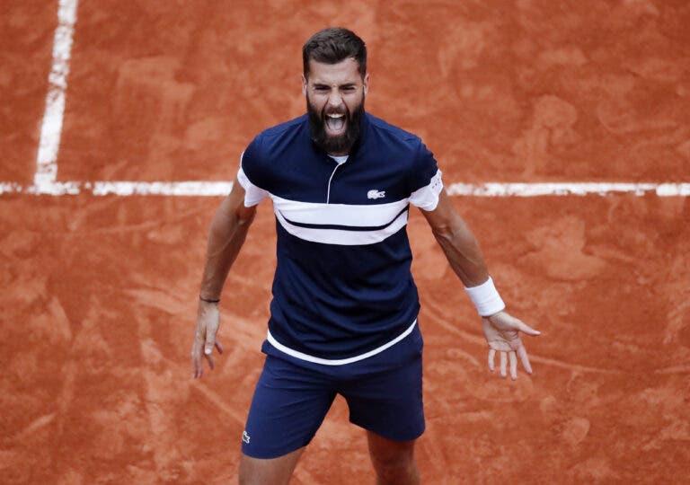Paire beneficia da desistência de Carreno Busta e avança para os 'oitavos' em Roland Garros
