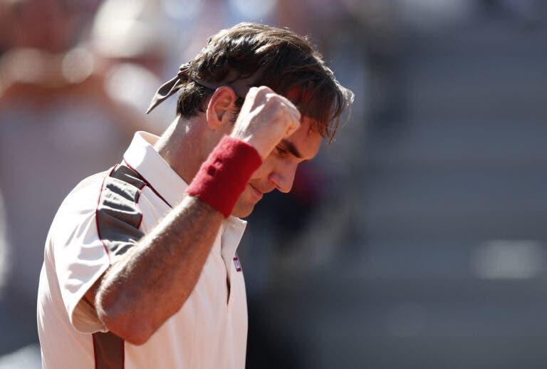 Federer faz feito inédito com presença nos quartos de final em Roland Garros