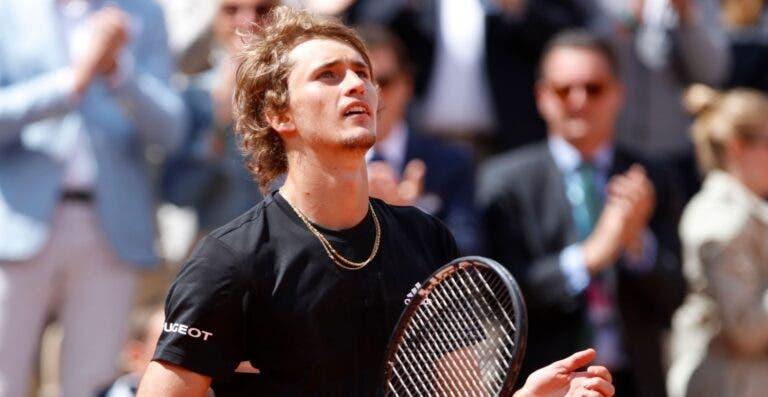 Zverev: «Djokovic, Federer e Nadal vão estar no topo durante mais algum tempo»