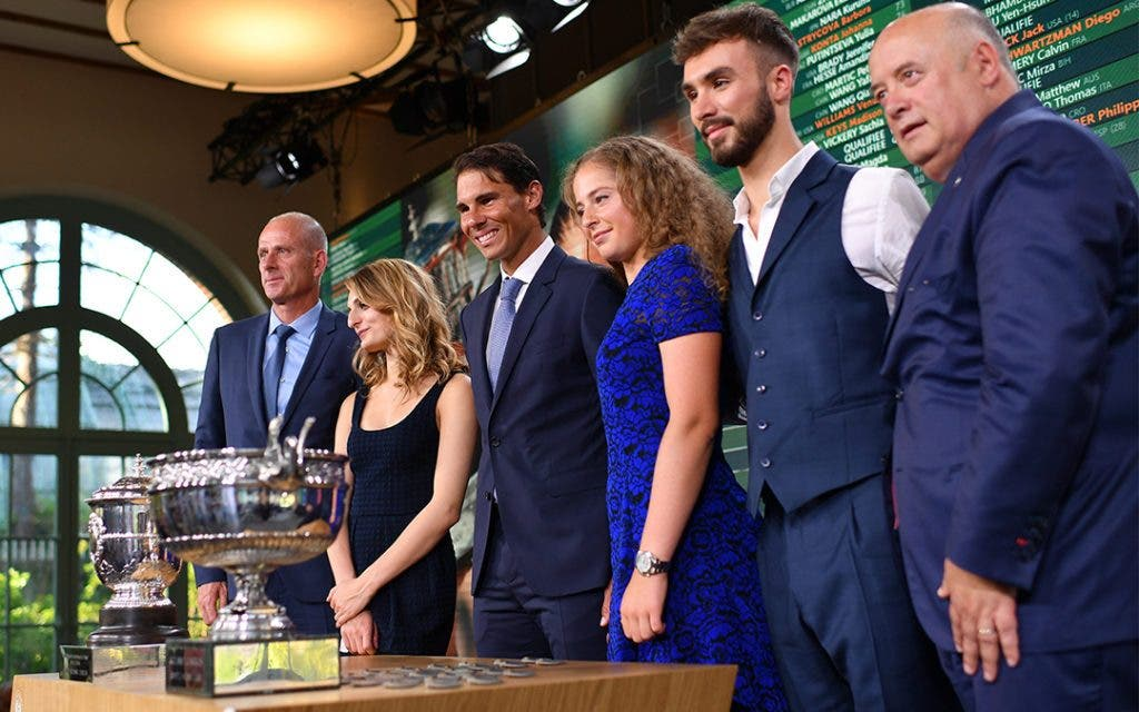 [VÍDEO] Acompanhe o sorteio de Roland Garros, em DIRETO