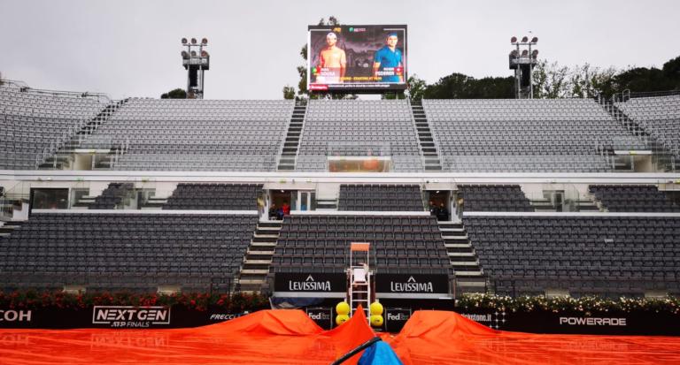 Roma não desiste e ainda espera que Federer-Sousa se defrontem hoje