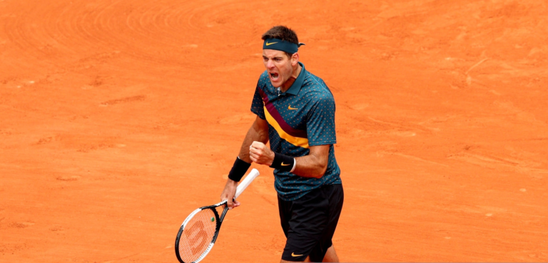 Del Potro vence e está na segunda ronda de Roland Garros