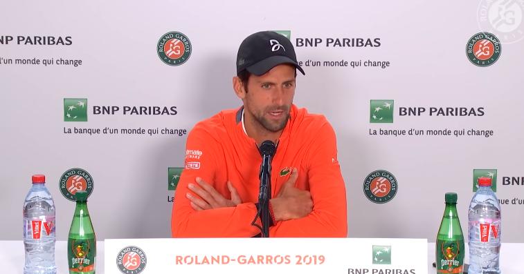 Djokovic acaba com polémica: «Saí do recinto quando me disseram que não havia jogo»