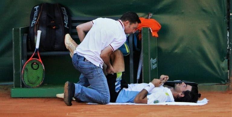 Elias após lesão: «É frustrante porque estava por cima do encontro»