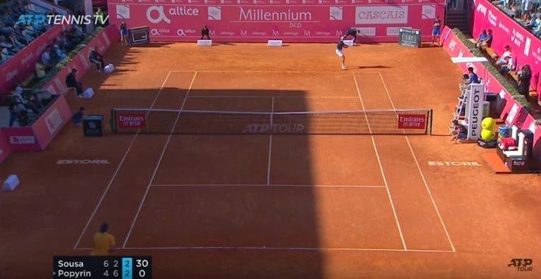 [VÍDEO] João Sousa descobriu a linha no seu melhor ponto da 1.ª ronda