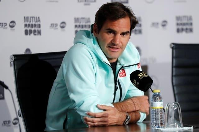 Federer em Madrid: «Quero ganhar alguns encontros aqui e 3 ou 4 em Paris»