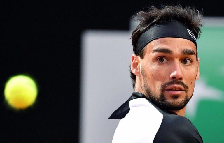 A jogar em casa, Fognini despacha Tsonga e segue para a segunda ronda em Roma