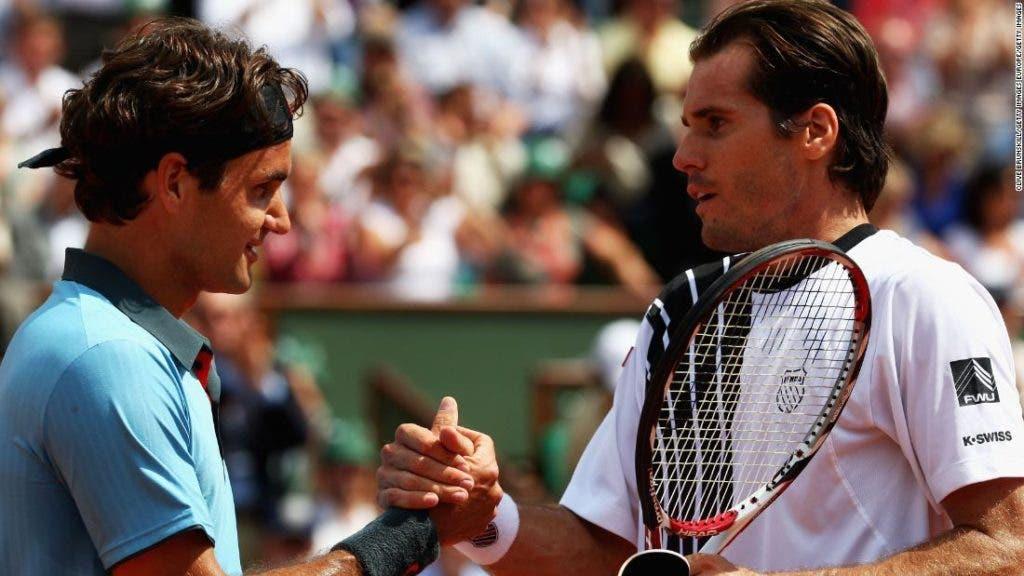Haas e o dia em que quase estragou o sonho de Federer em vencer Roland Garros: «Aquilo estava nas estrelas»