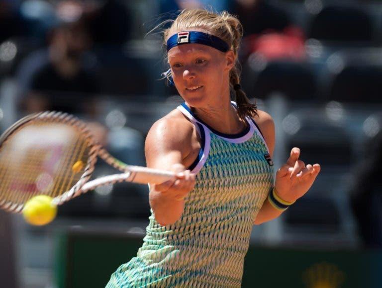 Kiki Bertens perde e reduz chance de apuramento para as WTA Finals