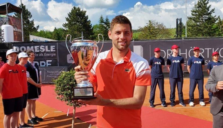 Krajinovic: é 60.º ATP, não está lesionado mas fica fora de Roland Garros