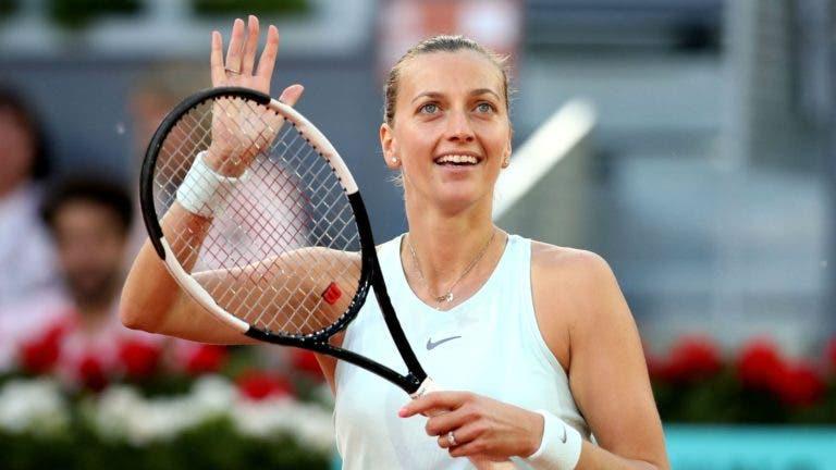Duas vezes campeã, Kvitova continua a impressionar em Wimbledon