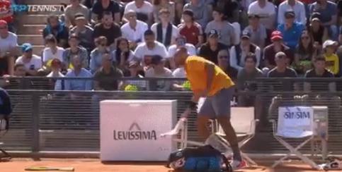 Inacreditável: Kyrgios é DESQUALIFICADO do ATP 1000 de Roma