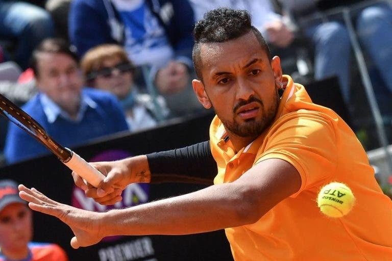 Toni Nadal arrasa Kyrgios: «É um mal para o ténis e merece ser sancionado»