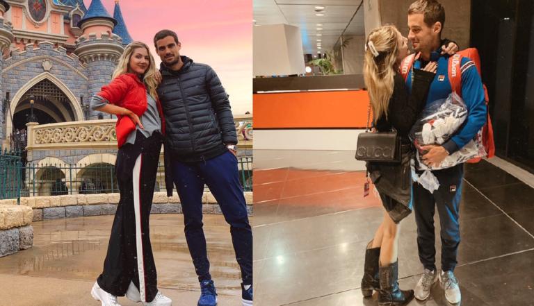 Guido Pella vai casar com modelo argentina que namorou com Del Potro