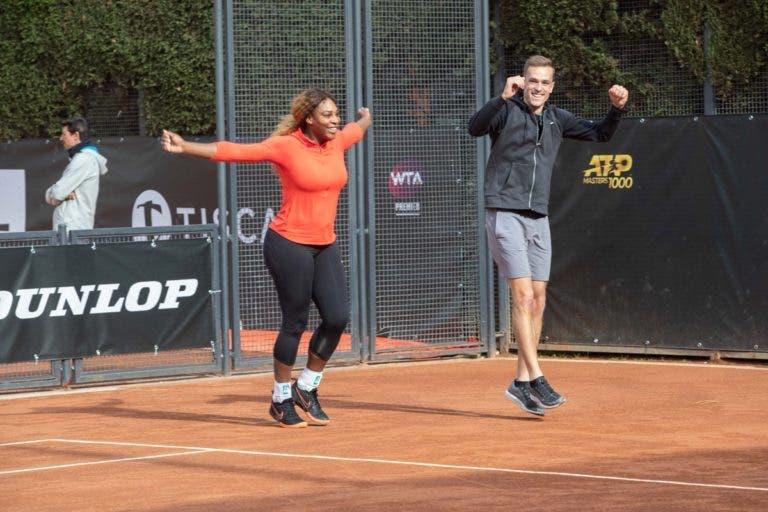 [VÍDEOS e FOTOS] Menos de 48 horas depois da Met Gala, Serena já chegou a Roma