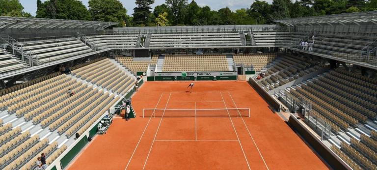 [FOTOS] Conheça o novo (e fabuloso) court de Roland Garros