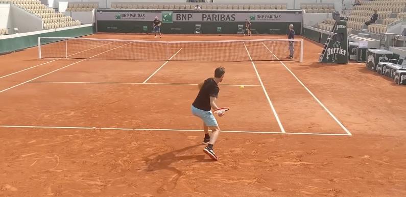 [VÍDEO] A impressionante intensidade de treino de Dominic Thiem
