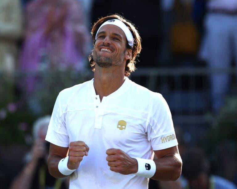 Feliciano López é coroado rei no Queen's Club