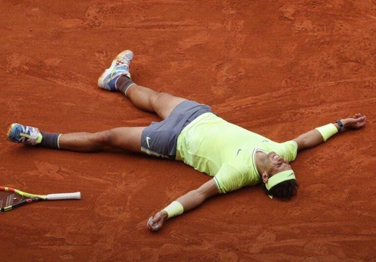 Nadal aproxima-se ainda mais dos Grand Slams de Federer