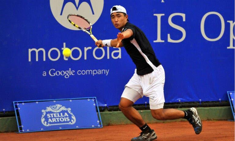 Pedro Sakamoto eliminado na 1.ª ronda do challenger de Augsburgo
