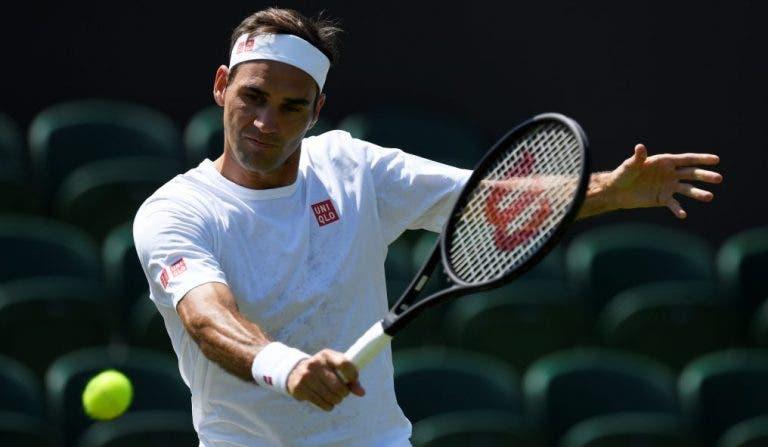 Federer: «Depois de vencer RG e Wimbledon em 09′ pensei que ia acabar a carreira»