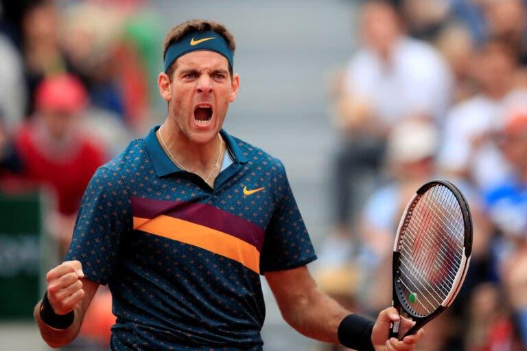 Del Potro e RG de '09: «Sabia que, se vencesse Federer, seria campeão»
