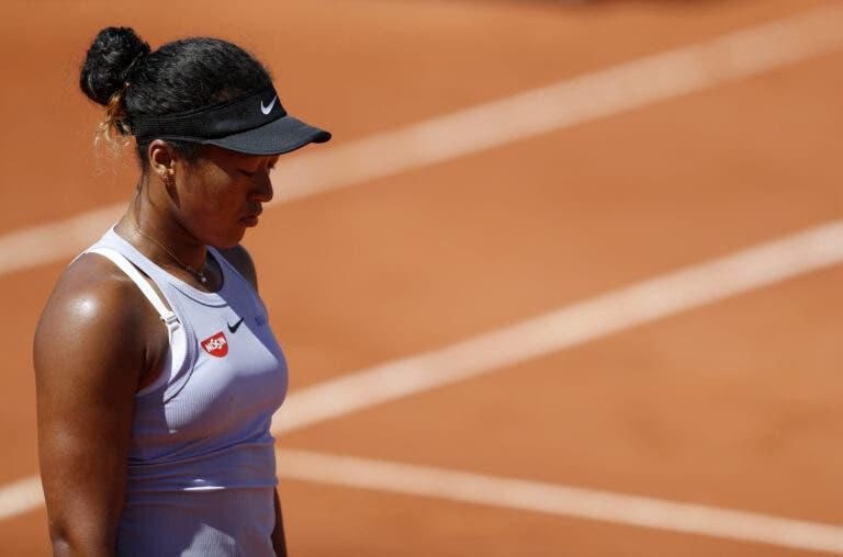 Osaka desilude e é despachada da terceira ronda de Roland Garros