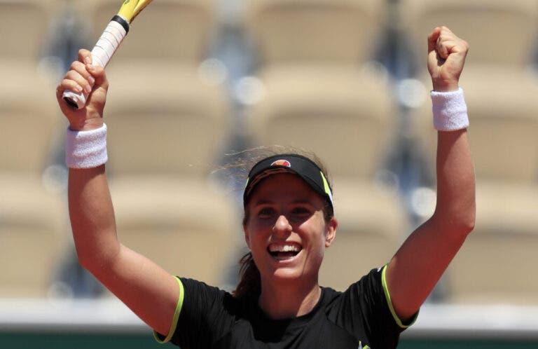 Konta joga a nível impressionante e despacha Stephens rumo às meias-finais de Roland Garros