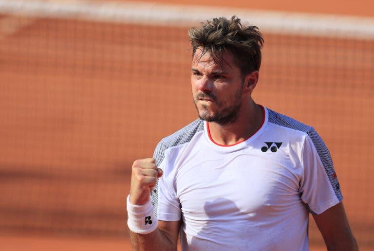 Wawrinka: «Era bom ter torneios à porta fechada para preparar Roland Garros»