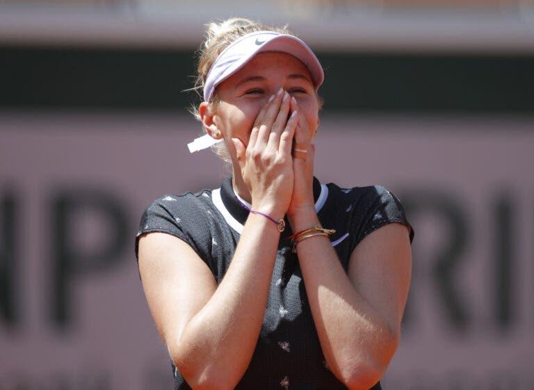 Anisimova: «O meu objetivo para a temporada é vencer um Grand Slam»
