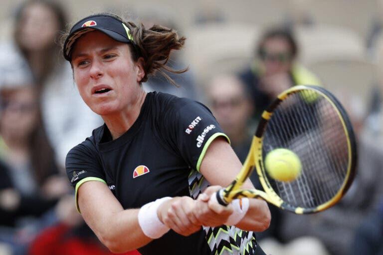 Johanna Konta desiste de Palermo…A pensar no US Open