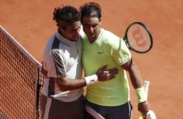 Nadal e os 20 Majors de Federer: «Não vou ficar frustrado porque o meu vizinho tem a casa maior»