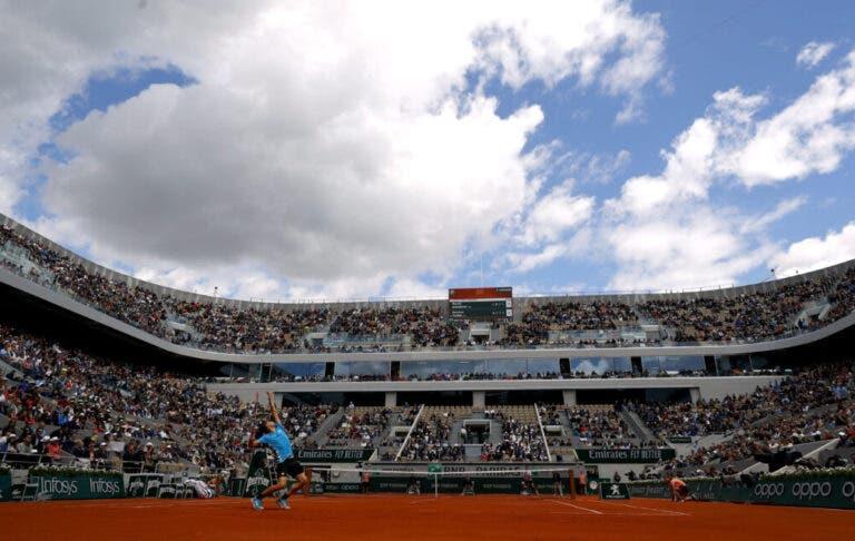Indiferente a todas as polémicas, Roland Garros bate (por muito) o recorde de espetadores