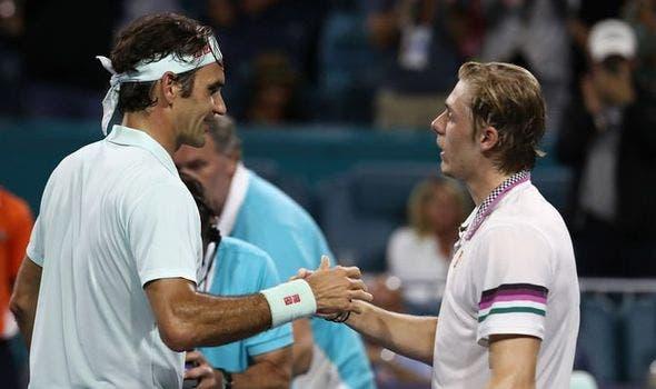 Qual o melhor jogador que Shapovalov enfrentou na carreira? «Federer, não tenho dúvidas»