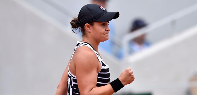 """Barty elimina """"sensação"""" Anisimova e está na final de Roland Garros"""