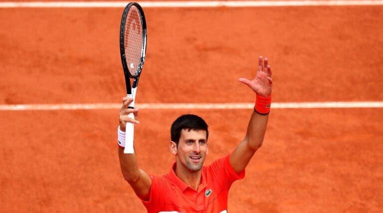 Djokovic passa por Zverev rumo ao top 4 em Paris pela 9.ª vez