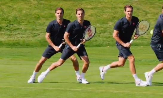 [VÍDEO] Os cinco passos para se bater a esquerda como Federer
