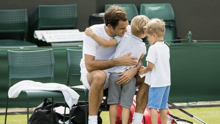 Italiano e os treinos com Federer: «Os filhos gozam quando ele falha»